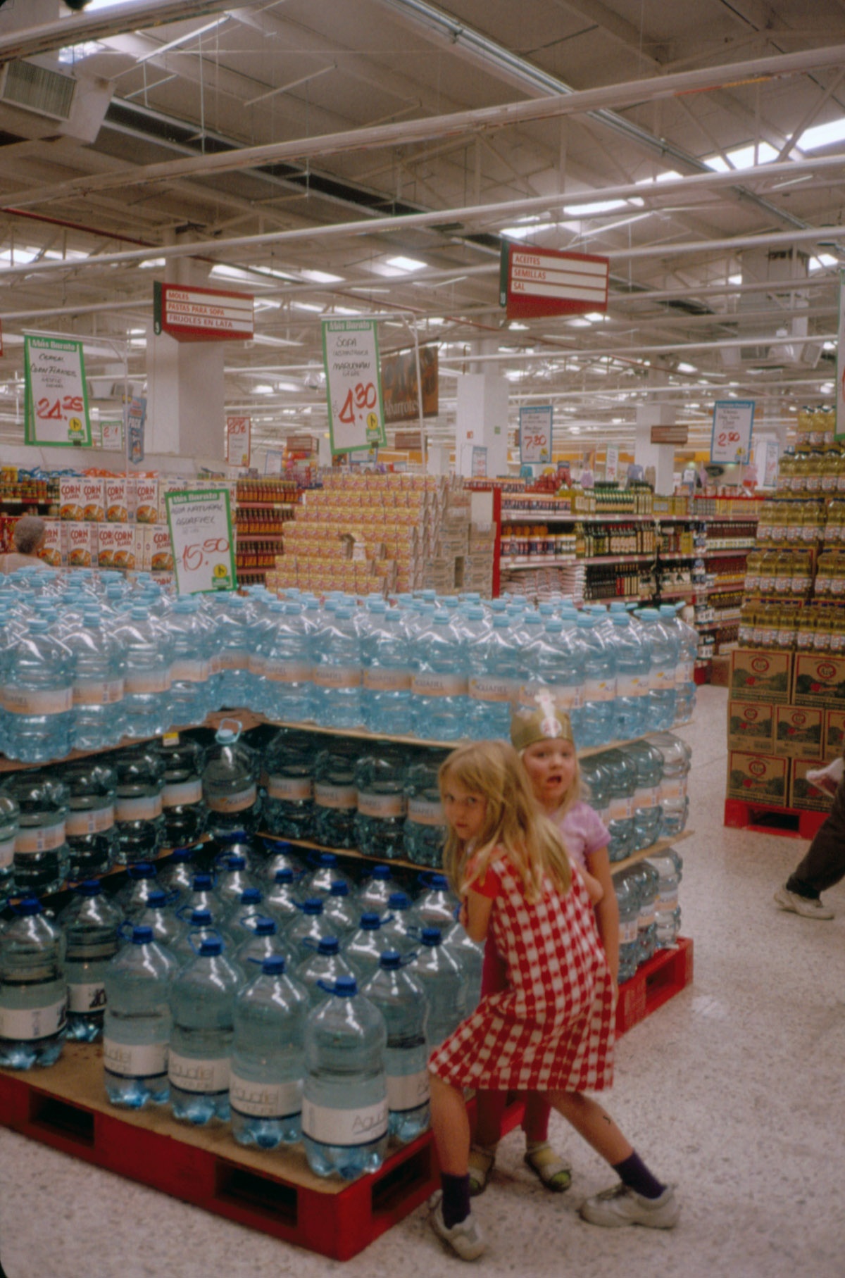 PV water bottle store