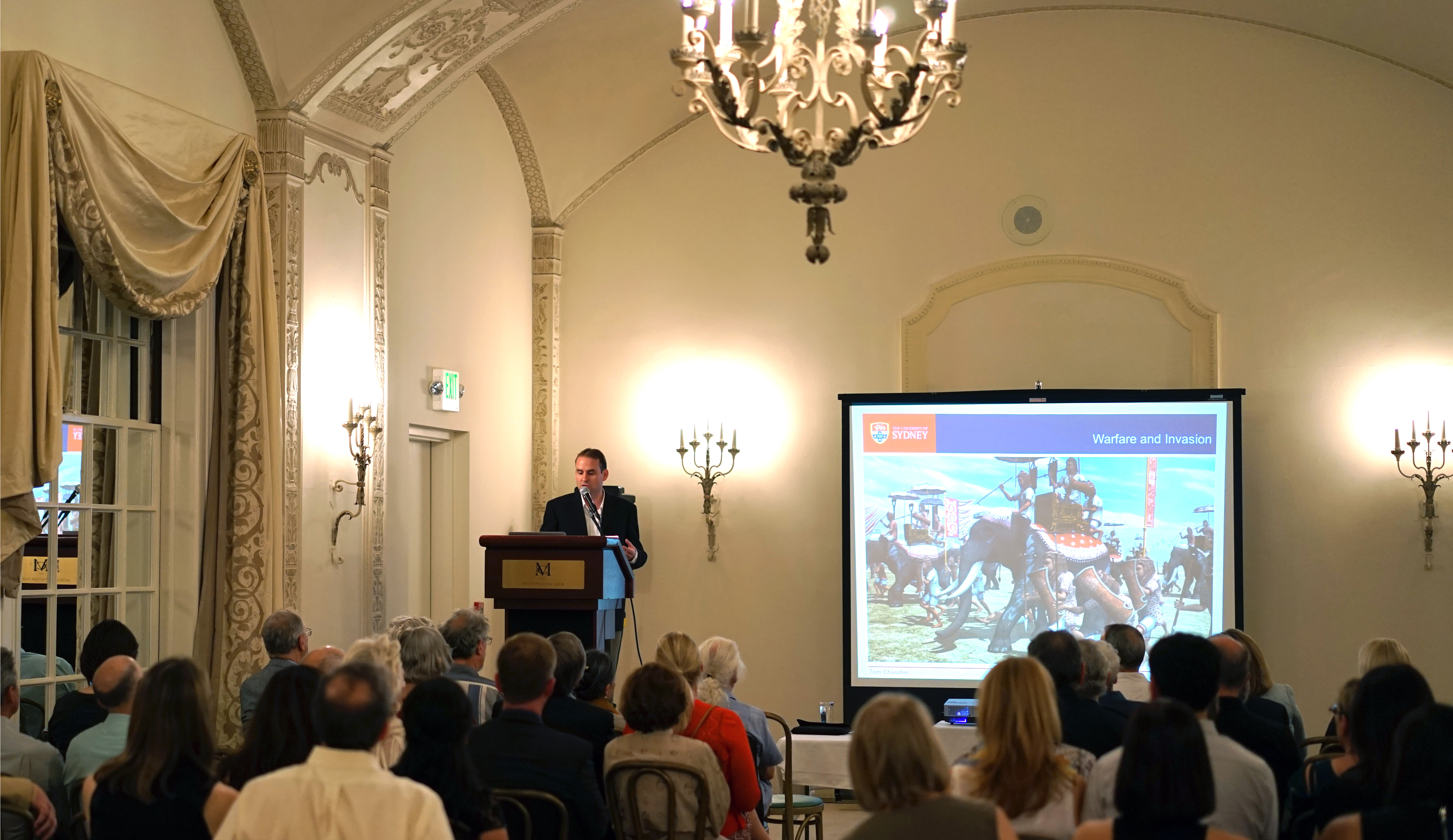 May 1, 2014: Global Heritage Fund Presentation by Dr. Damian Evans, University of Sydney