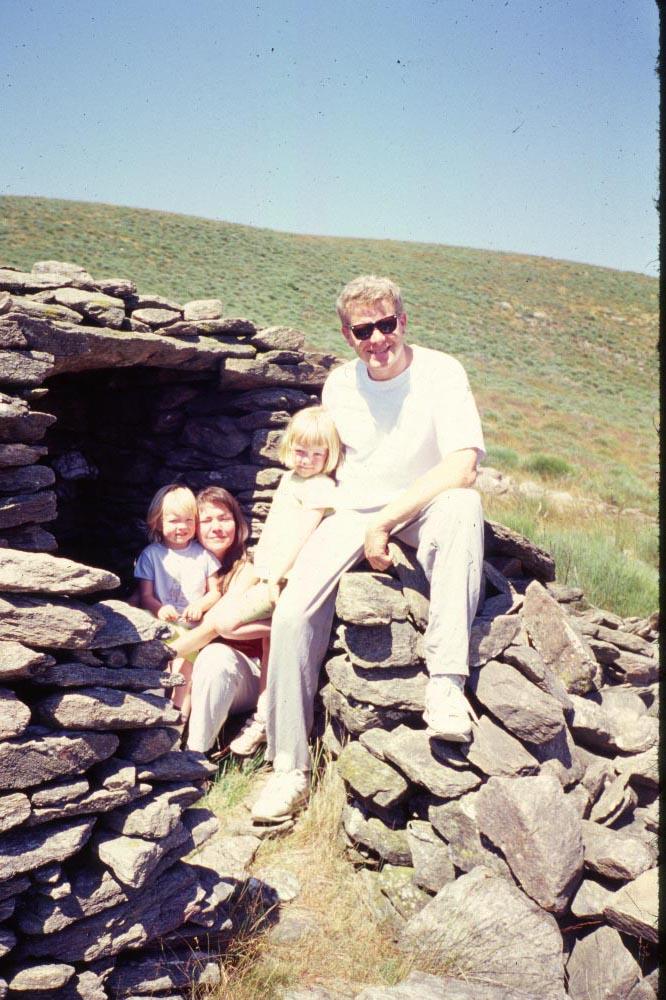 family at hut-3