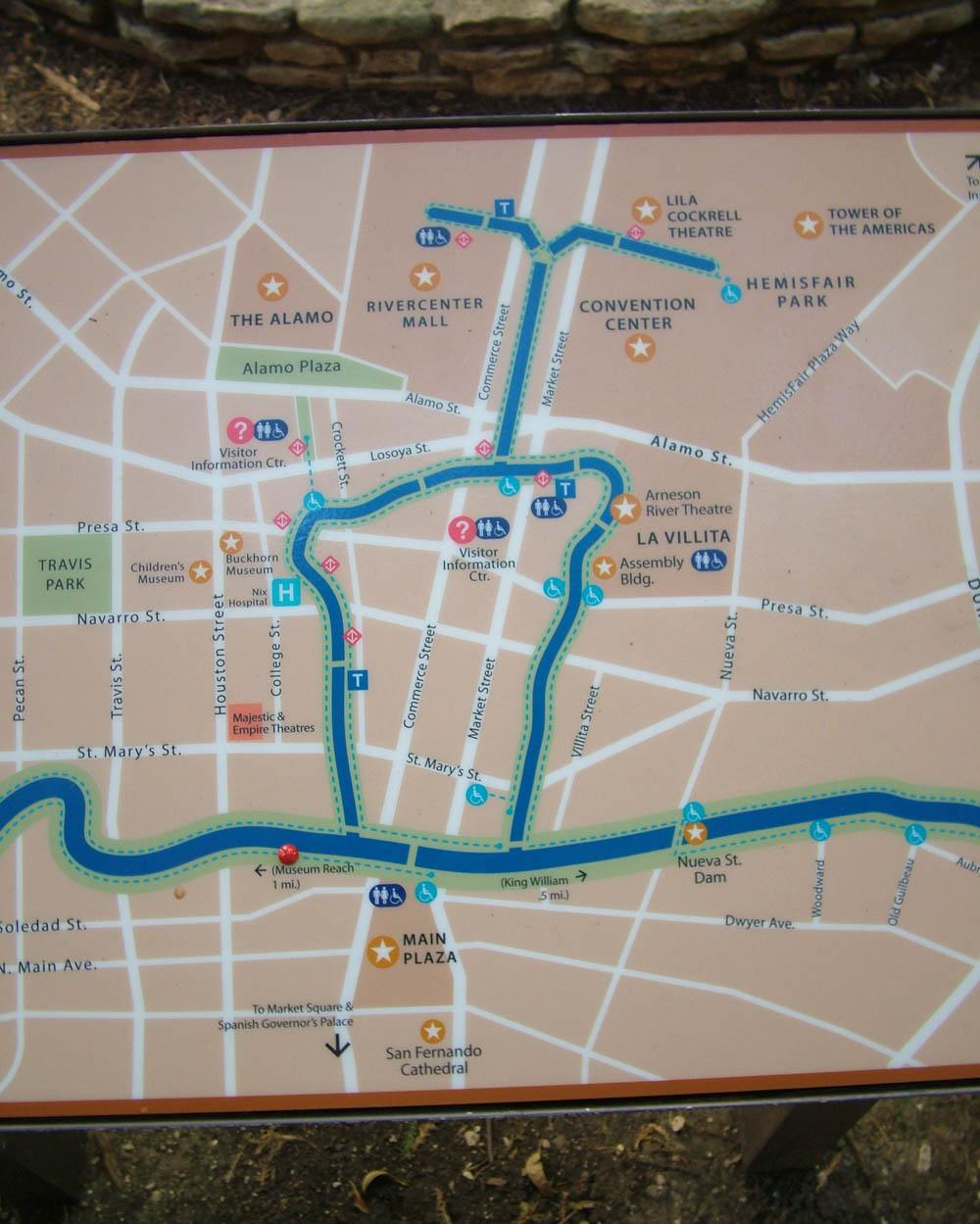 riverwalk mapS