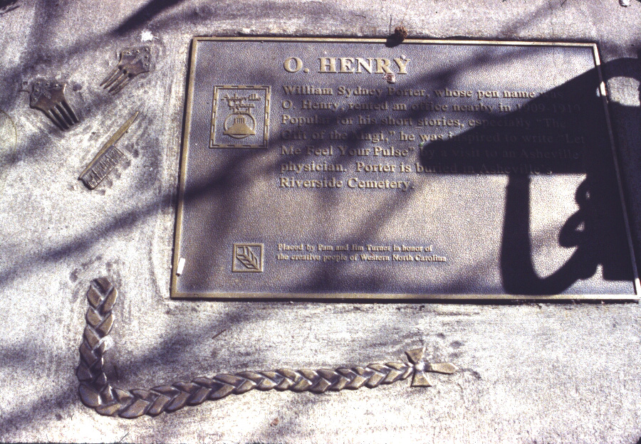 o henry plaque