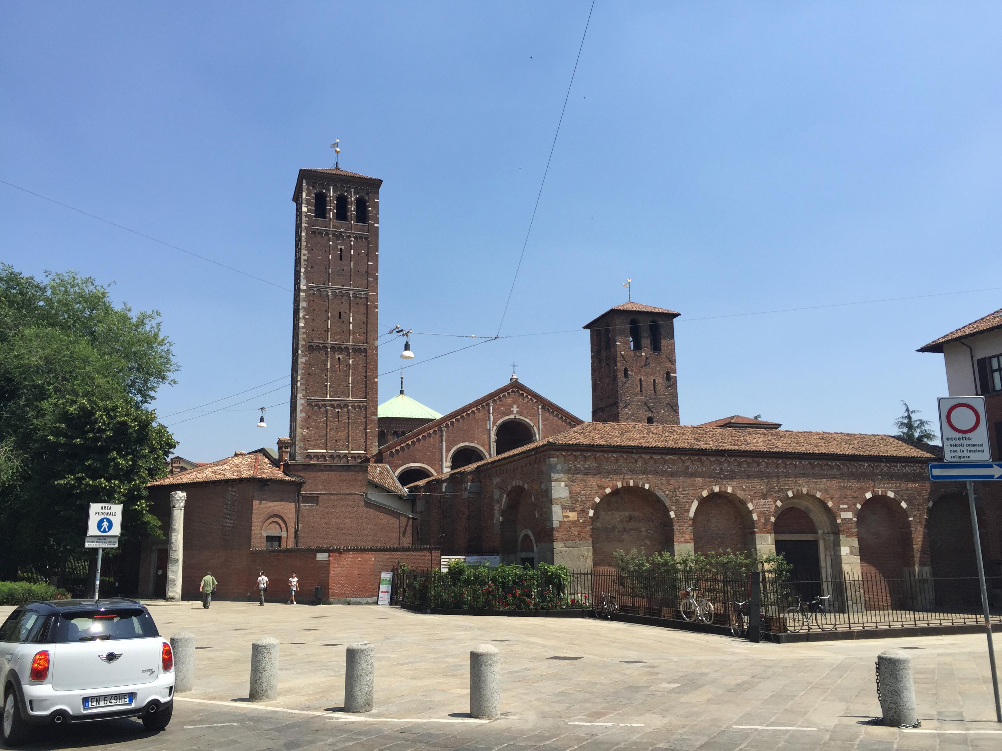 S. Ambrogio best view