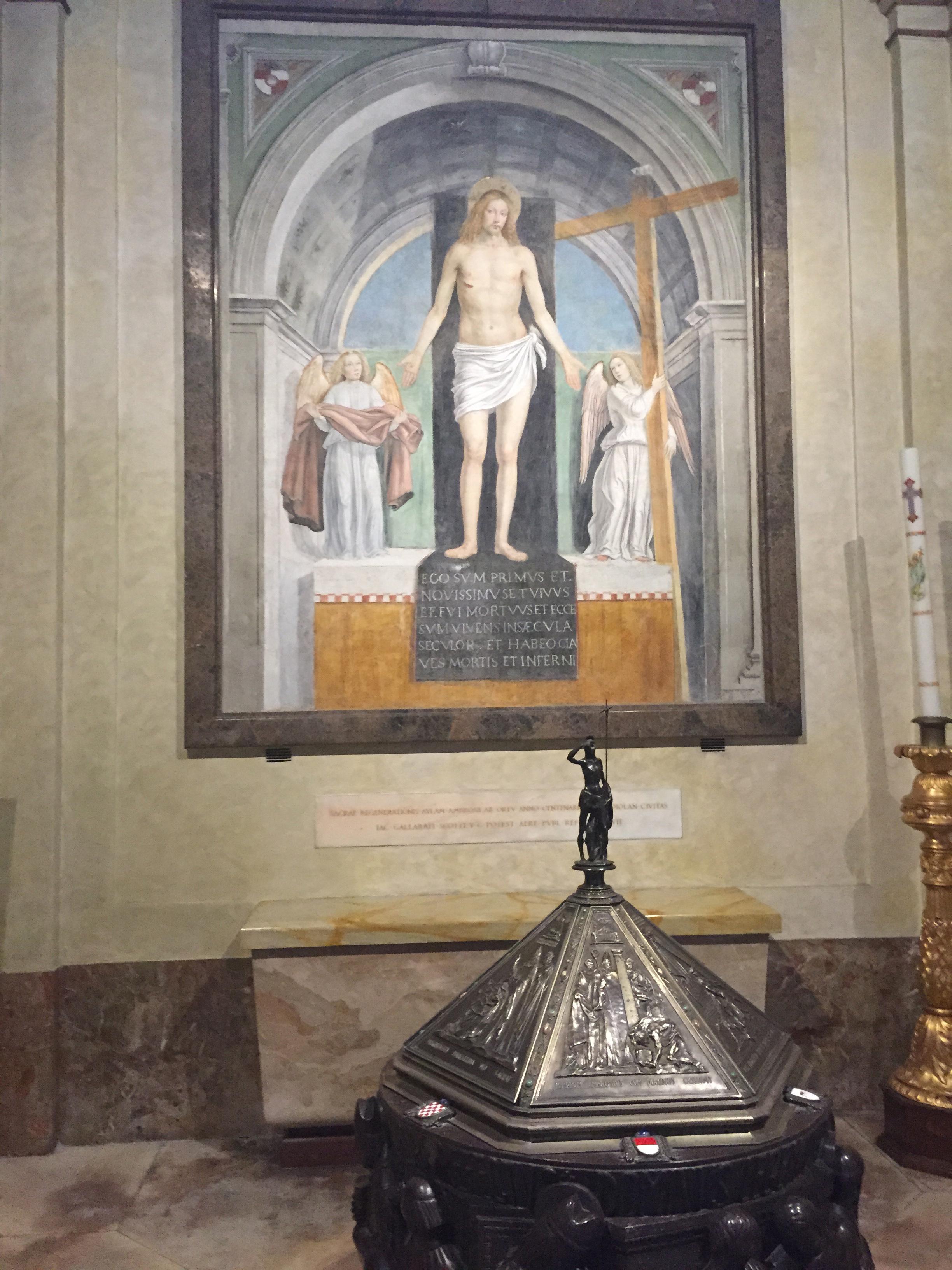 S. Ambrogio great painting