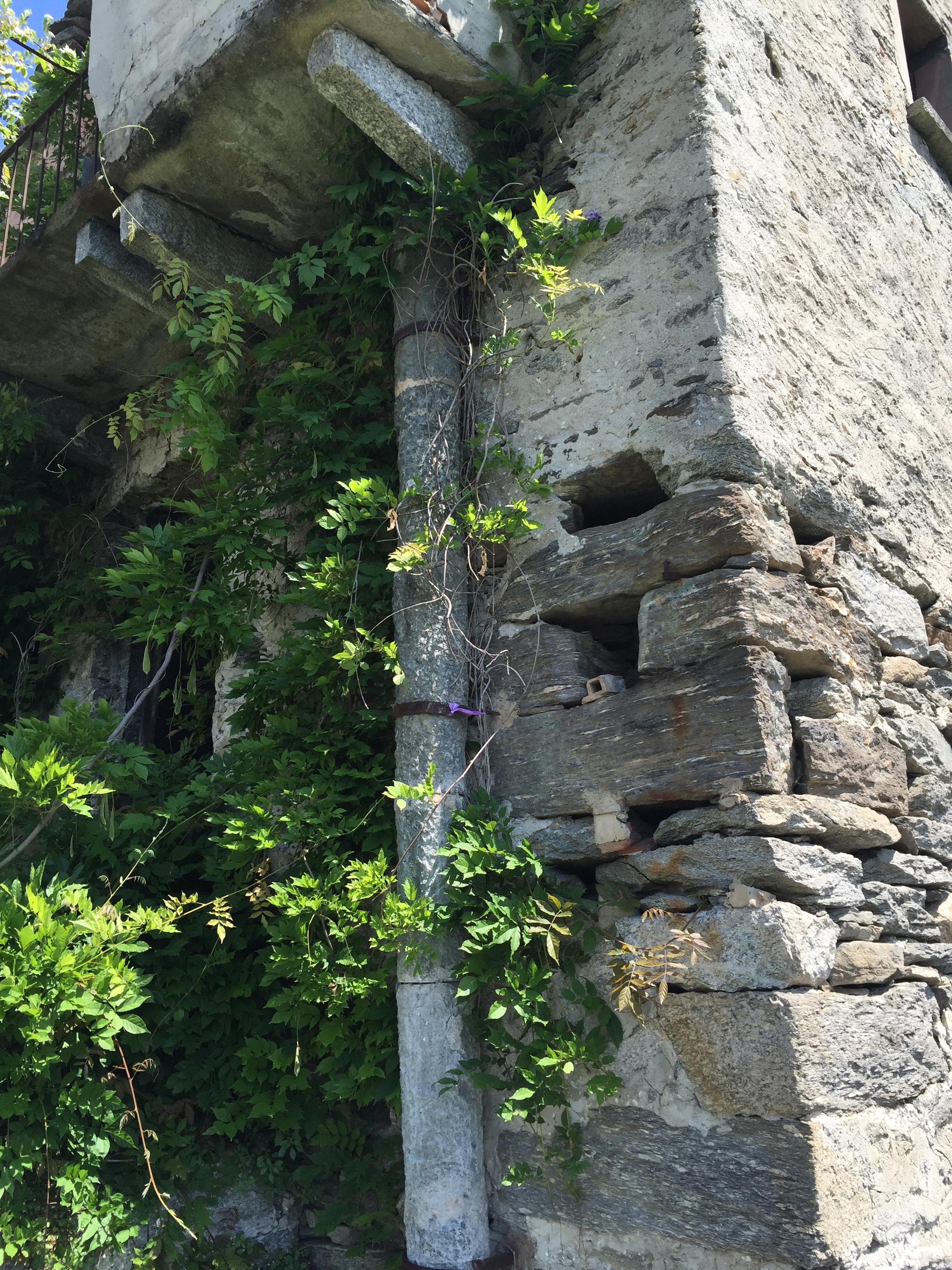 stone waste line