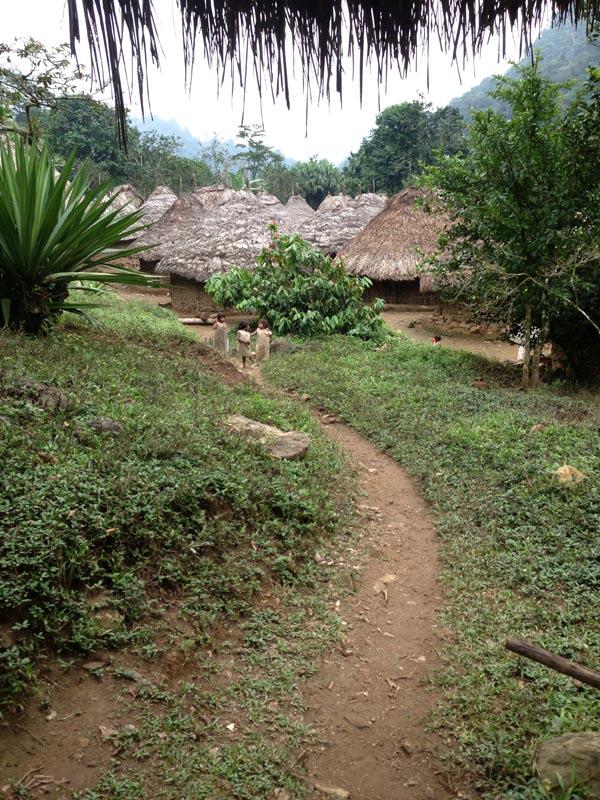 Trail up i10 village