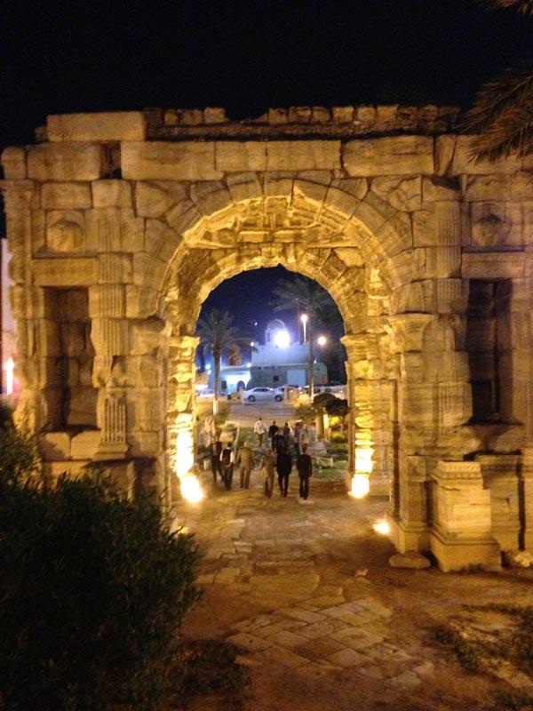 MA arch night