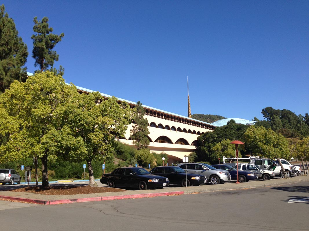 Marin county courthouse bes