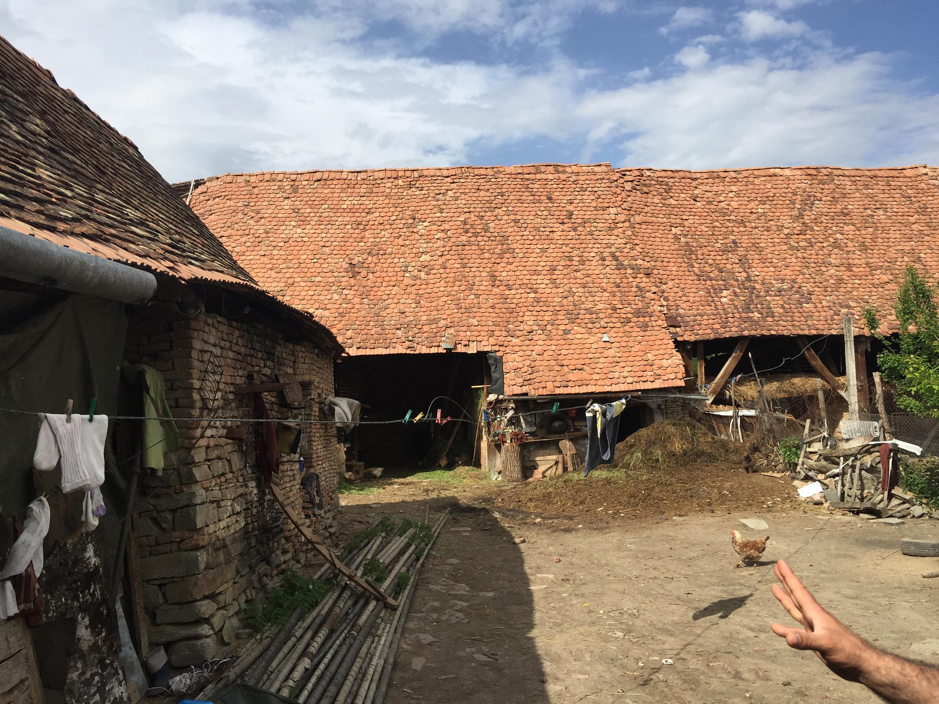 daia barn behind corner