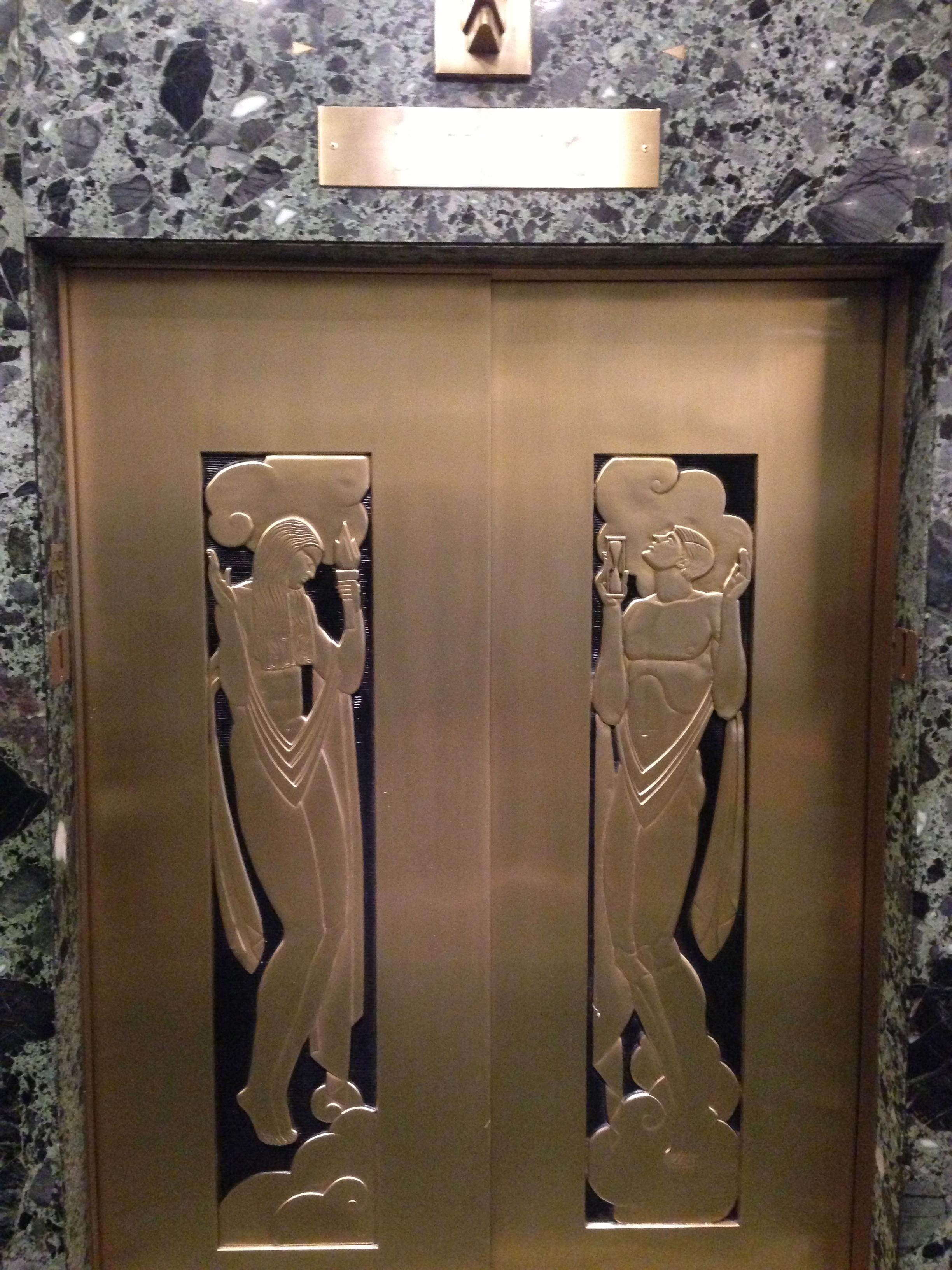 333 elev doors