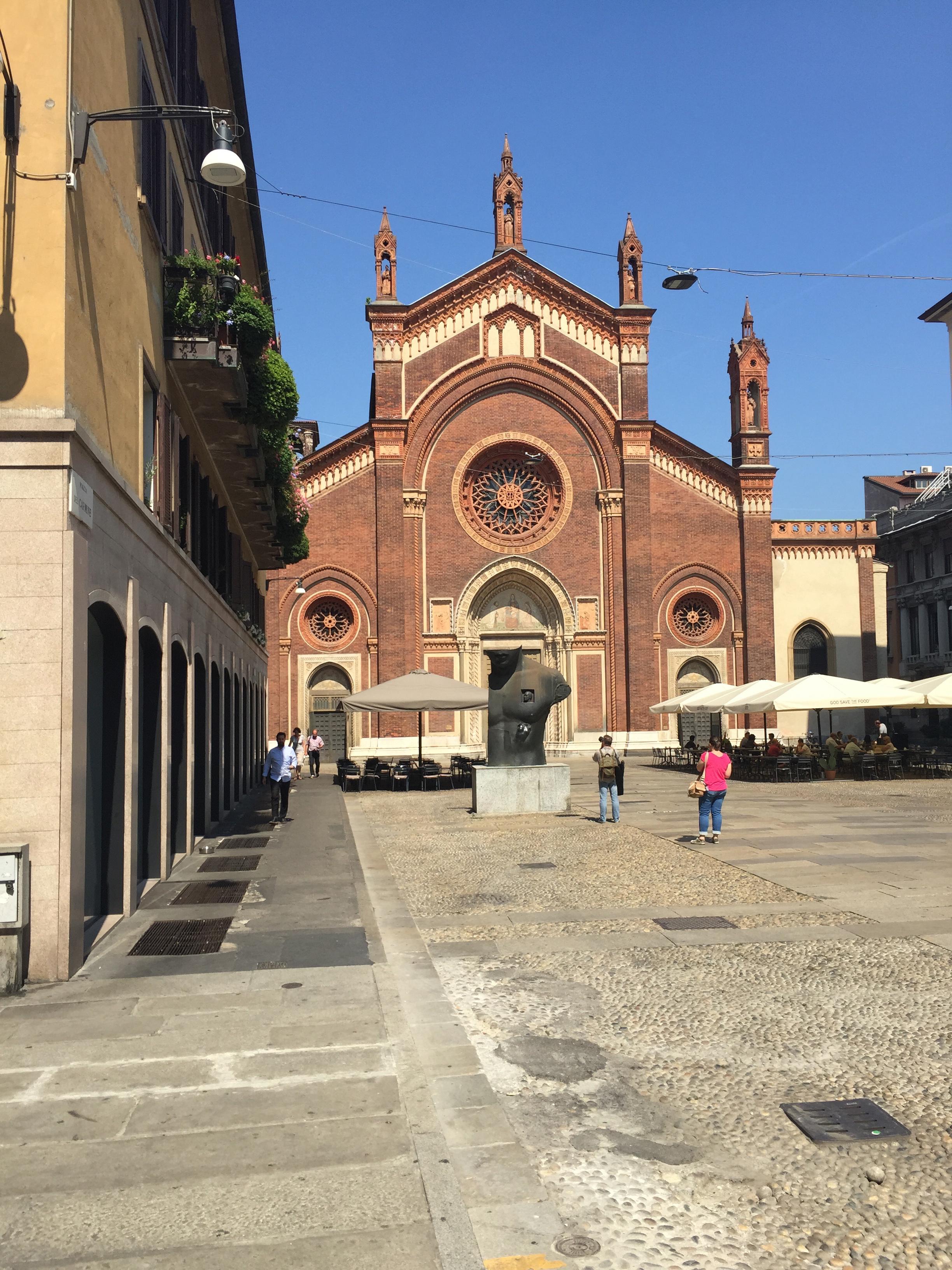 Another church off Garibaldi Brera