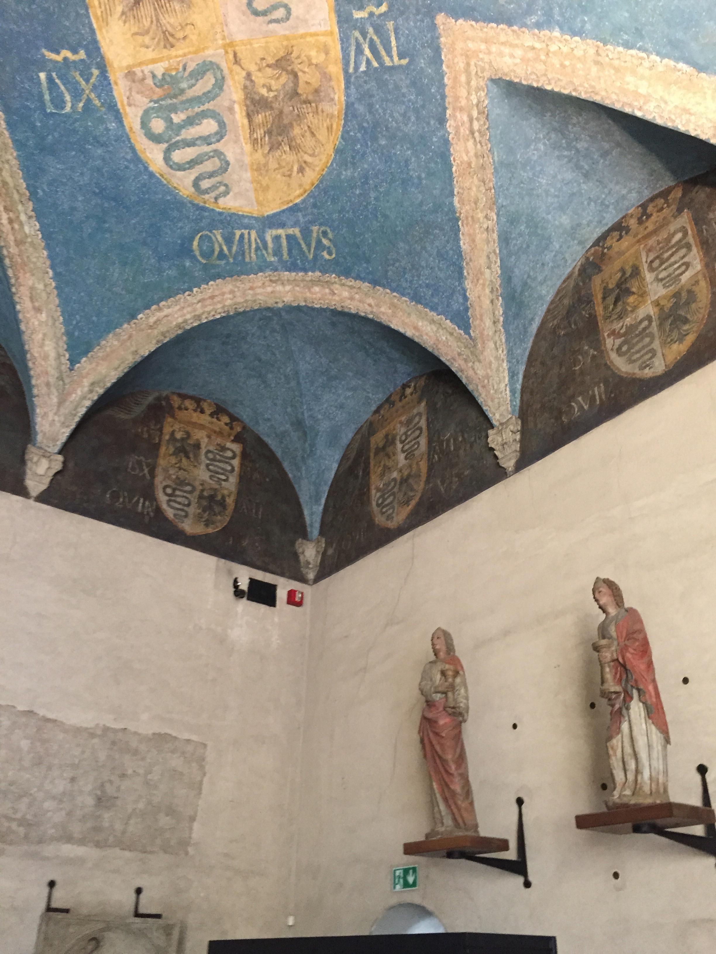 Castello Sforza vault room n stats