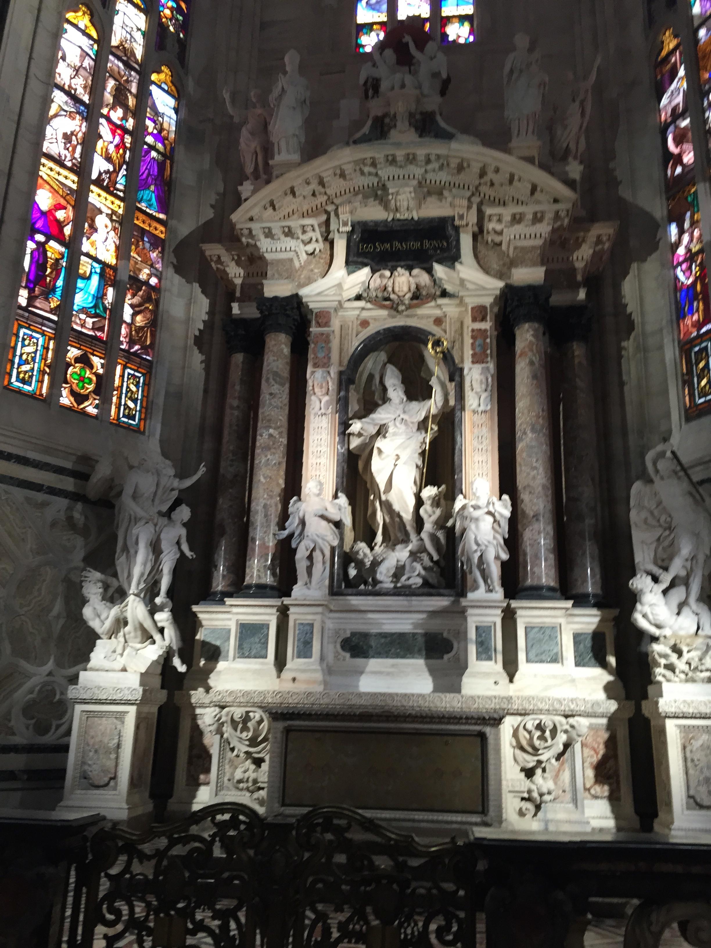 Duomo ectasy archbish altar