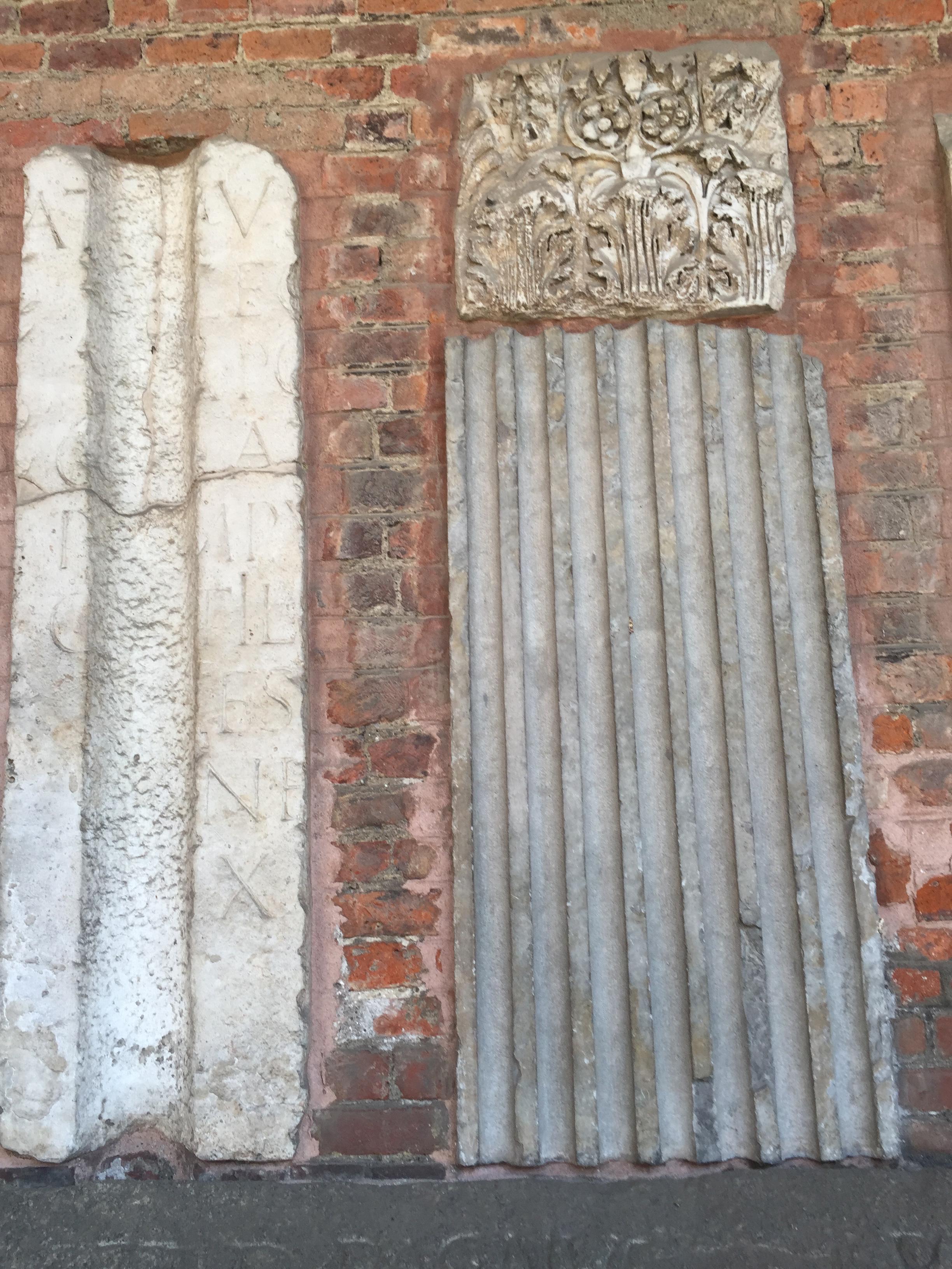 S. Ambrogio column frags