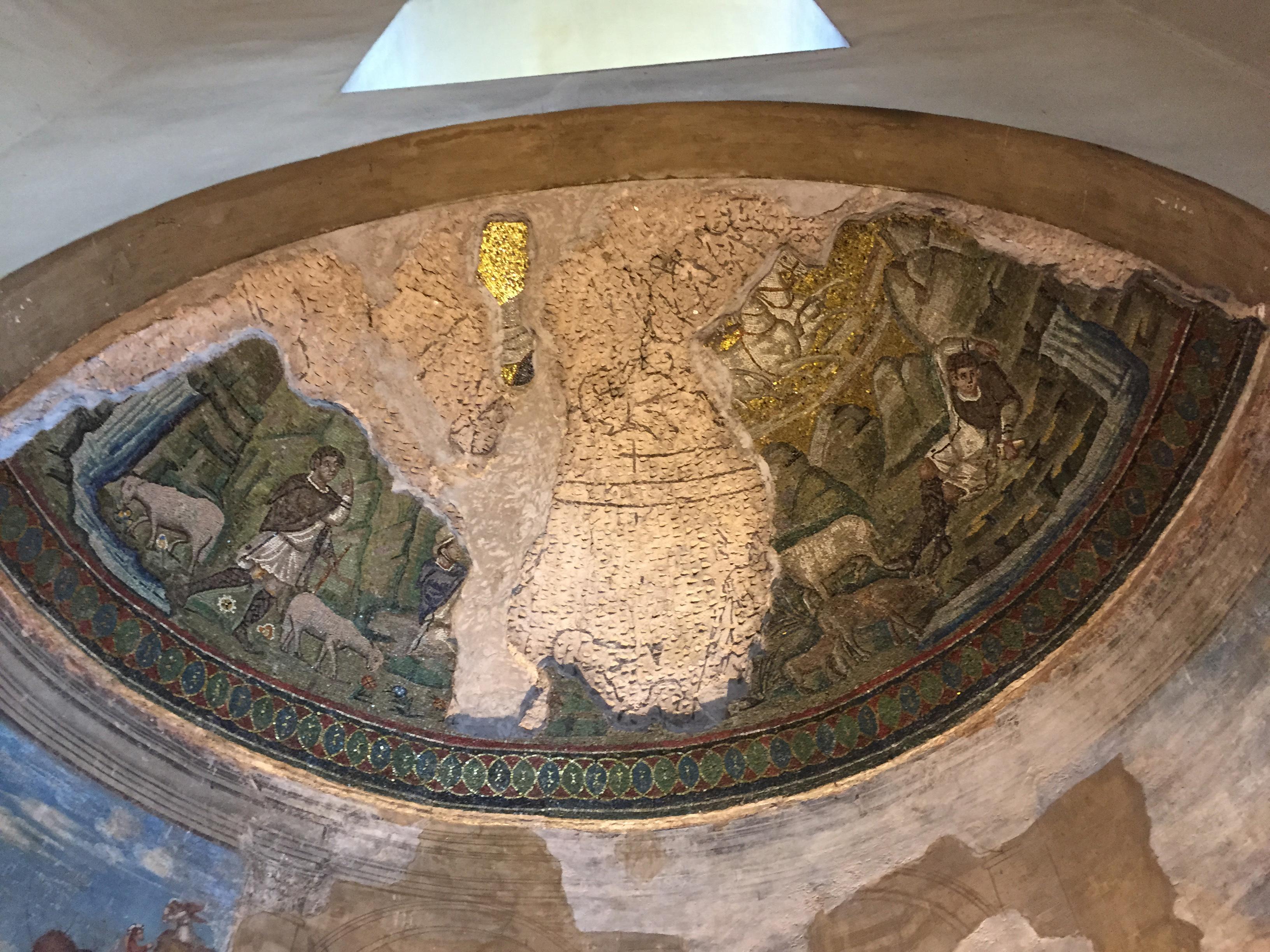 S. Lorenzo Maggiore Sun mosaic