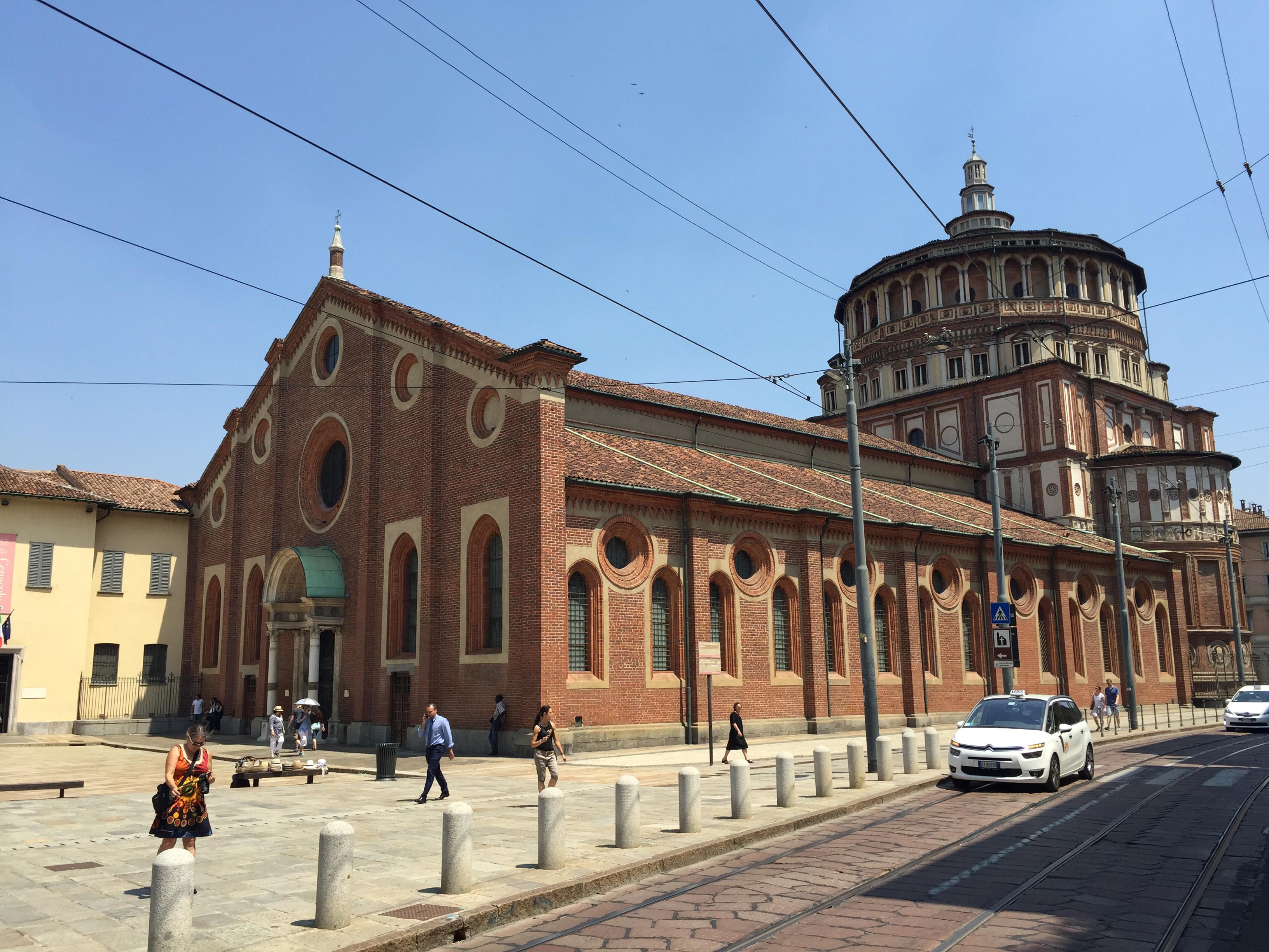 S. Marie D Grazie view best